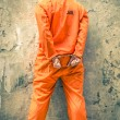 ������, ������: Dead Man Walking Prisoner with Handcuffs standing proud