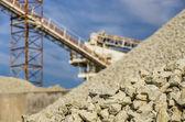 Gravel Quarry — Stock Photo
