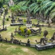 Buddha Park, panorama View - Vientiane, Laos — Stock Photo