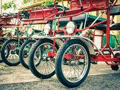 Typical Italian Rickshaws - Close Up — Foto Stock