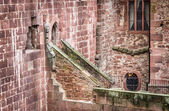 Detail of Heidelberg Castle in Germany — Foto Stock
