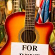 Classic Guitar for Rent — Stock Photo