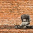 Buddha Statue without Head - Ayutthaya, Thailand — Stock Photo