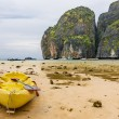 Maya Beach - Rainy Day in Phi Phi Leh — Stock Photo