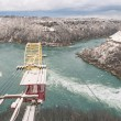 Whirpool at Niagara River - Winter Time — Stok fotoğraf