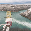 Whirpool at Niagara River - Winter Time — 图库照片