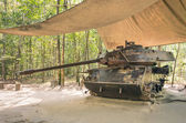 Vintage Tank at Cu Chi Tunnels - Saigon, Vietnam — Stock Photo