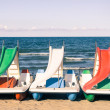 Stock Photo: Paddle Boat at italiBeach