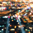 Stock Photo: Las Vegas Downtown - Defocused lights bokeh