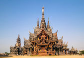 Sanctuary of Truth - Pattaya - Thailand — Zdjęcie stockowe