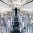 Generic airplane Seats — Stockfoto #41466269