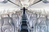 Generiska flygplan säten — Stockfoto