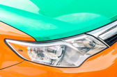 Detail of a taxi car in Toronto - Close up of a Canadian taxicab — Stock Photo