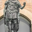 Statue of Gaius Julius Caesar in Rimini, Italy — Stock Photo