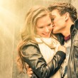 Couple at the beginning of a romantic love story - Fashion man w — ストック写真 #44560593