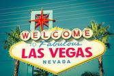 Las Vegas Welcome Sign — Stockfoto