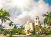 Congregational Church of Coral Gables in Miami - Florida USA — Stockfoto