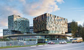 "Moscow, building innovation center ""Skolkovo"" — Stock Photo"