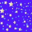 Stars and snow — Stock Vector