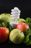 Fruits and vegetables are the food for energy — Stock Photo