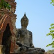 Ancient image buddha statue in Thailand — Stock Photo #39137951