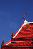 Roof of the Wat Chalong — Stock Photo