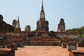 The stupa buddha and sky — Stock Photo