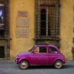 Small Italian Car — Stock Photo #31060477
