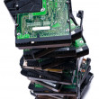 Stock Photo: Hard disk drives