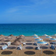 Stock Photo: Beach on mediterraneSea, Antalya, Turkey