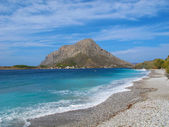 Mountain view from Kalymnos, Greece — Stock Photo