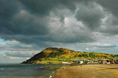 Bray beach, Ireland — Stock Photo