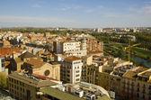 Lleida city panorama, Spain — Stock Photo