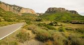 View of Mallos de Riglos, in Huesca, Spain — Stock Photo