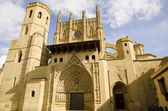 La Seu Vella Cathedral, Lleida, Catalonia, Spain — Stock Photo