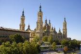 Basílica pilla, zaragoza, españa — Foto de Stock