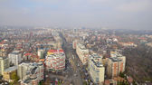 Urban view of Bucharest city — Stock Photo