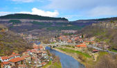 Urban view of Veliko Tarnovo city — Stock Photo