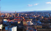 Cluj Napoca city view, Romania — Stock Photo