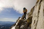 треккинг в горах румынии — Стоковое фото
