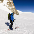 Постер, плакат: Ski Touring in Alps