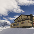 Schwarzsee hut in Swiss Alps — Stock Photo