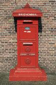 Old Dutch Post Box — Stock Photo