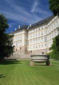 The Prague Castle - Paradise Garden — Stock Photo