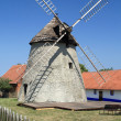 Windmill in Kuzelov — Stock Photo