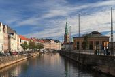 Frederiksholms Canal in Copenhagen — Stock Photo