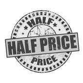 Half Price — Stock Vector