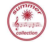 летняя коллекция — Cтоковый вектор