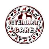 Veterinary care — Stock Vector