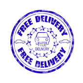 Free delivery — Stock Vector